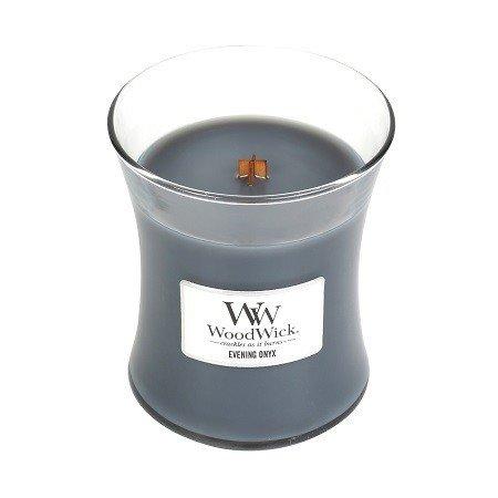 WoodWick Evening Onyx Medium Candle