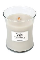 WoodWick Warm Wool Medium Candle