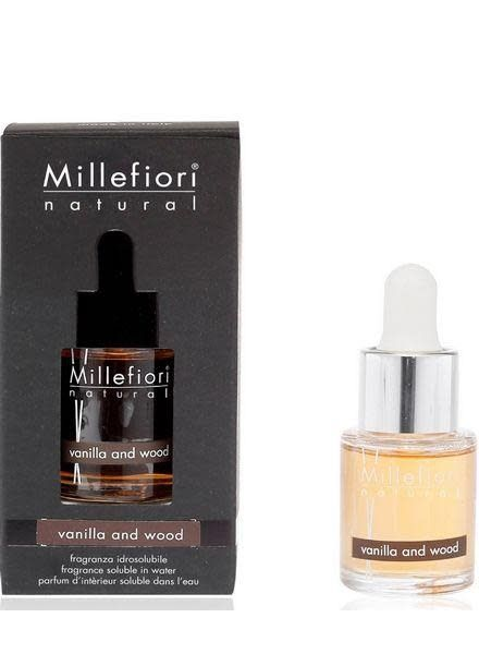 Millefiori Milano Vanilla & Wood Geurolie 15ml