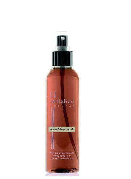 Millefiori Milano  Room Spray Incense & Blond Wood 150ml