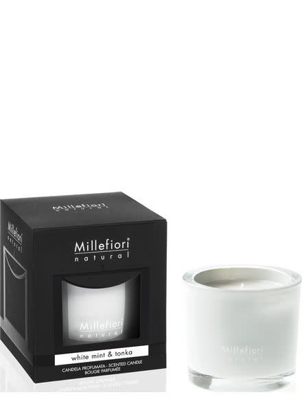 Millefiori Milano White Mint & Tonka Geurkaars