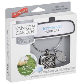 Yankee Candle Clean Cotton Charming Scents Starter Kit Square