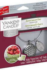 Yankee Candle Black Cherry Charming Scents Starter Kit Geometric