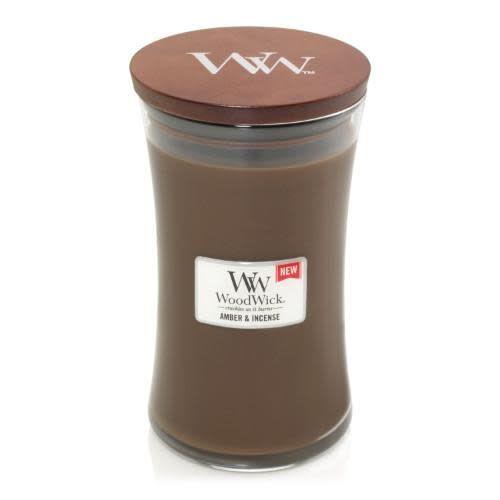 WoodWick Amber & Incense Large
