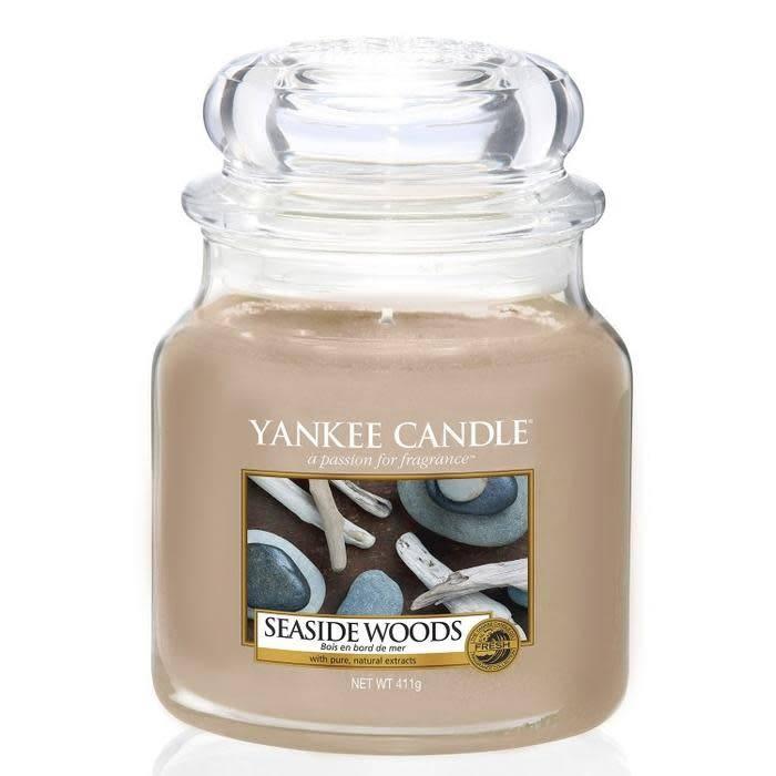 Yankee Candle Seaside Woods Medium Jar