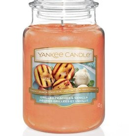 Yankee Candle Grilled Peaches & Vanilla Large Jar