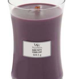 WoodWick Dark Poppy Large