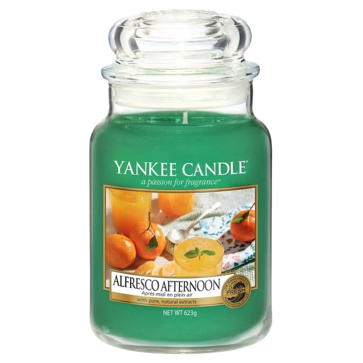 Yankee Candle Alfresco Afternoon Large Jar Candle