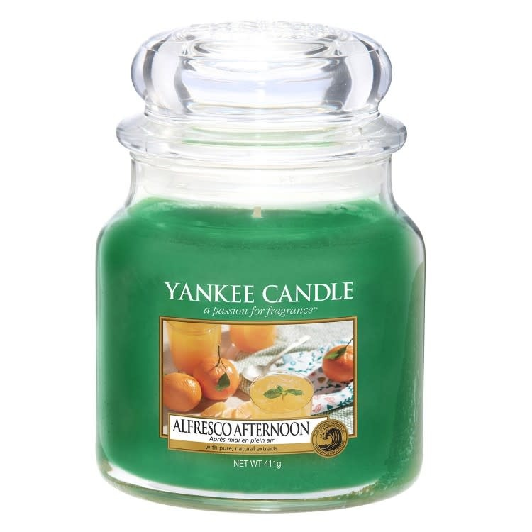 Yankee Candle Alfresco Afternoon Medium Jar Candle