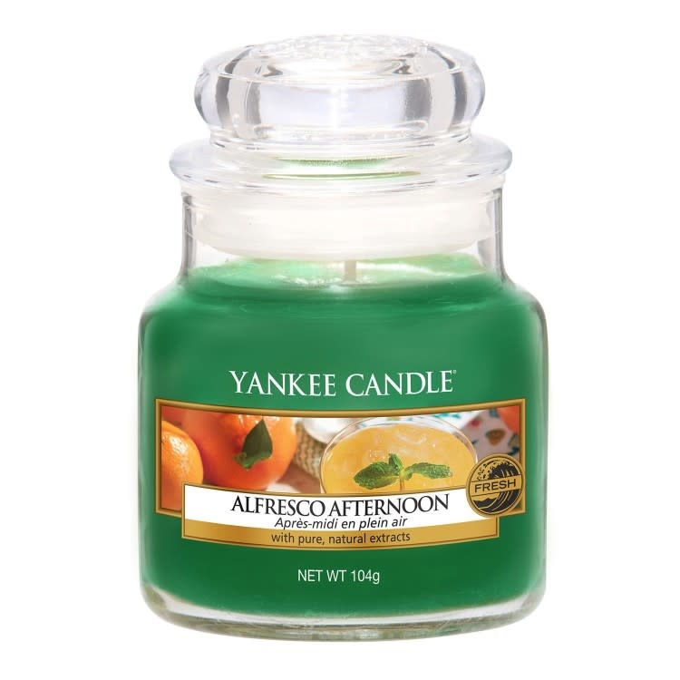 Yankee Candle Alfresco Afternoon Small Jar Candle