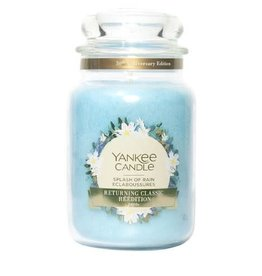Yankee Candle Splash of Rain Special Large Jar Candle