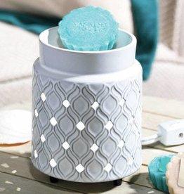 Addison Electric Melt Warmer LED Ceramic Embossed
