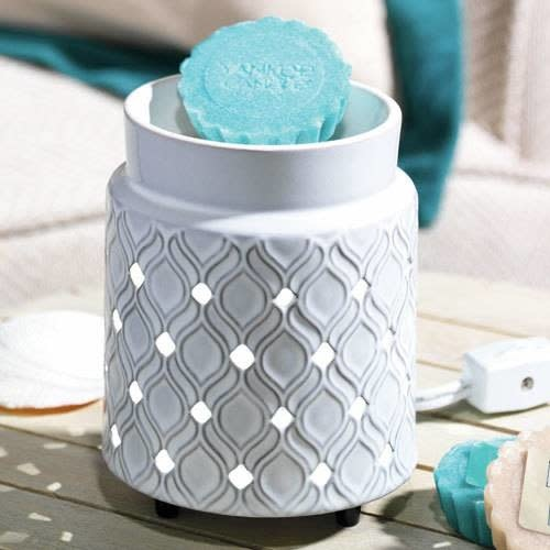Addison Electric Melt Warmer LED Ceramic Embossed