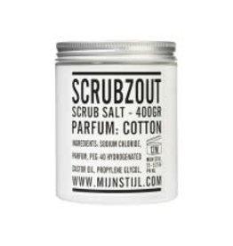 Mijn Stijl Scrubzout Cotton 400 gram Pot
