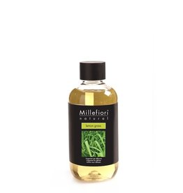 Millefiori Milano Refill For Stick Diffuser 250 ml Lemon Grass