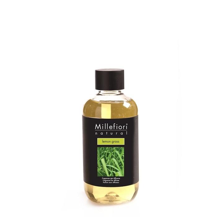 Millefiori Milano Refill For Stick Diffuser 250 ml Lemon Grass