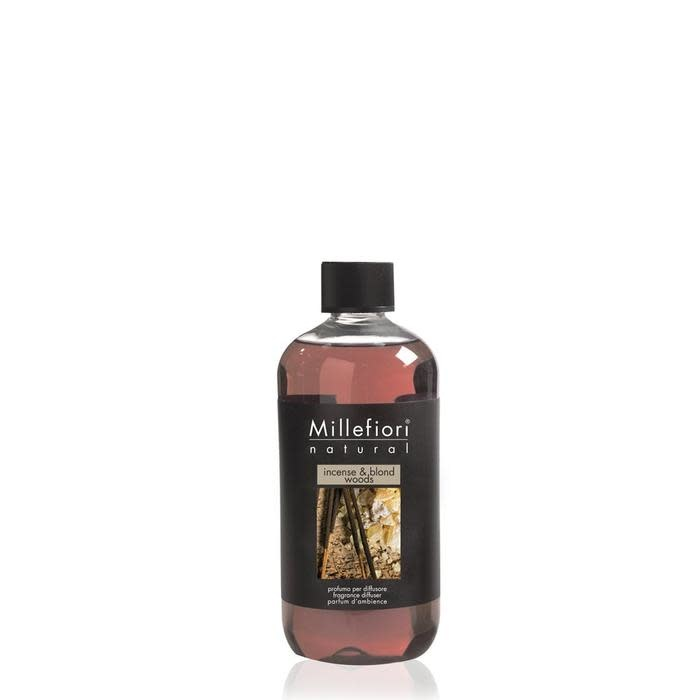 Millefiori Milano Refill For Stick Diffuser 250 ml Incense & Blond Woods