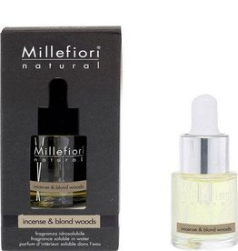 Millefiori Milano Incense & Blond Woods 15ml Geurolie