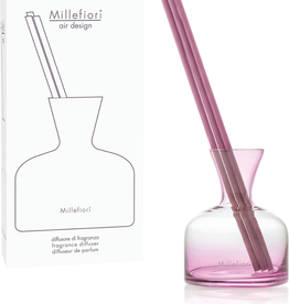 Fragrance Diffuser Glass Vase - Pink