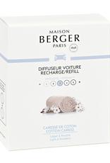 Maison Berger Navulling autoparfum 2 stuks Cotton Caress