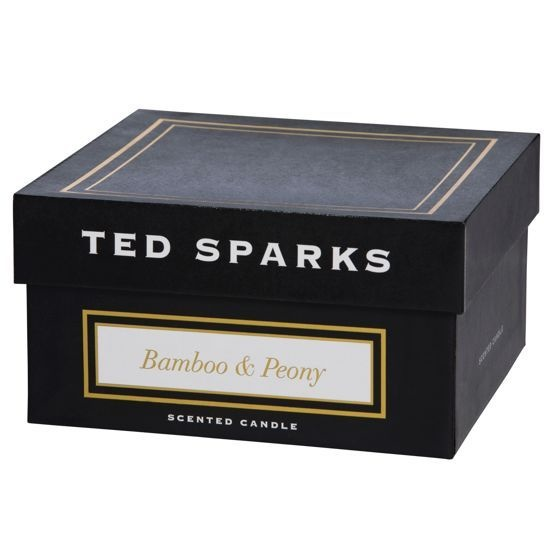 Ted Sparks Bamboo & Peony Black Magnum