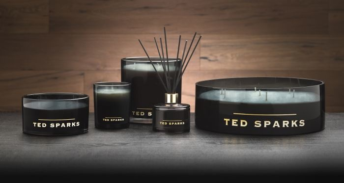 Ted Sparks Bamboo & Peony Black Diffuser 200ml