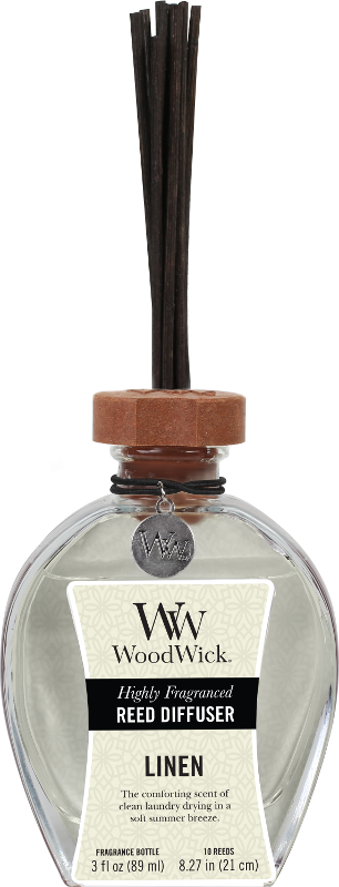 WoodWick Linen Reed Diffuser