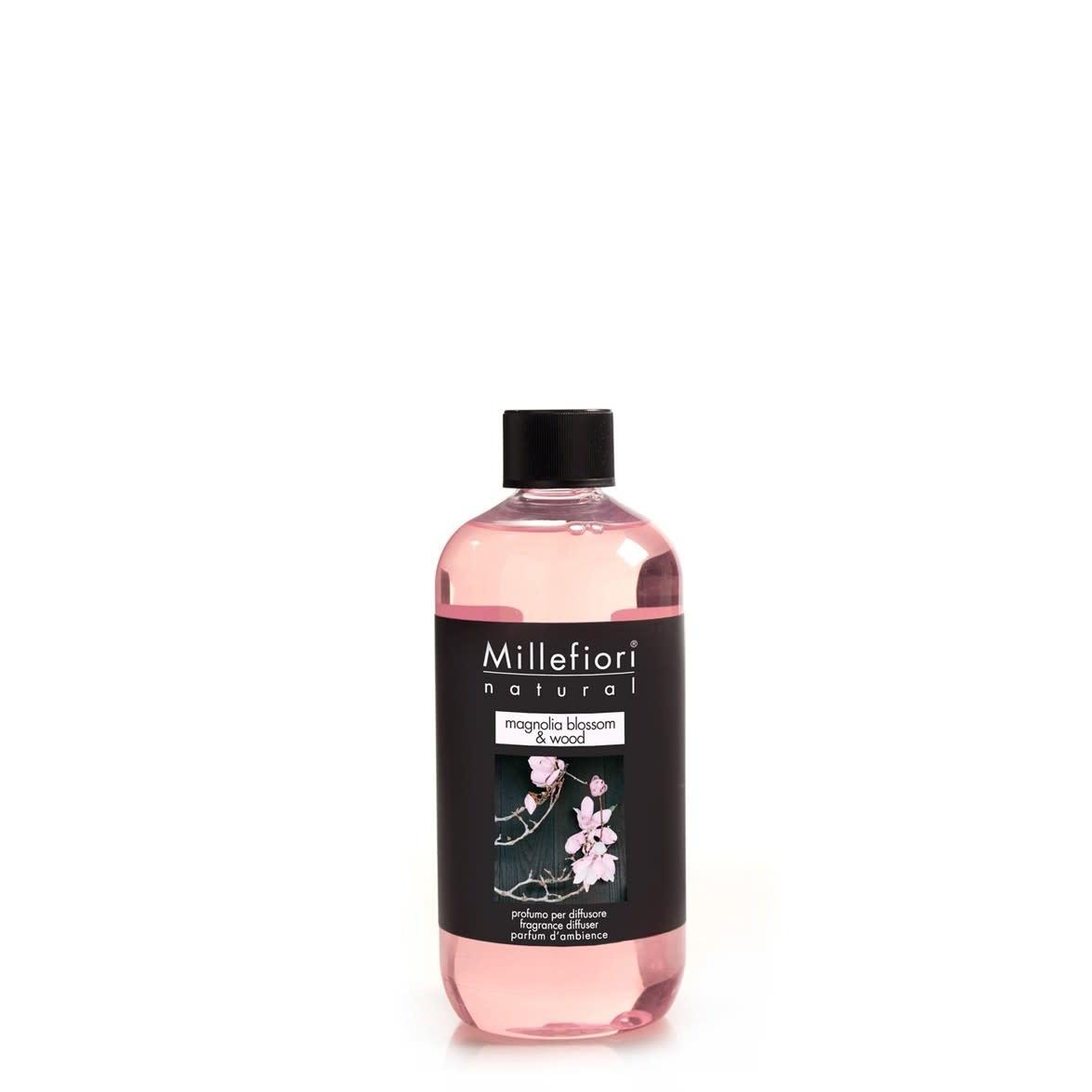 Millefiori Milano Refill For Stick Diffuser 250 ml Magnolia Blossom & Wood