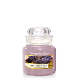 Yankee Candle Dried Lavender & Oak Small Jar