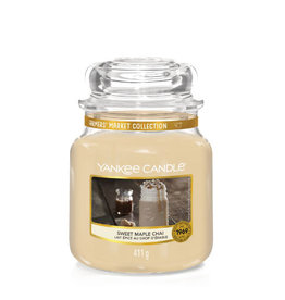 Yankee Candle Sweet Maple Chai Medium Jar