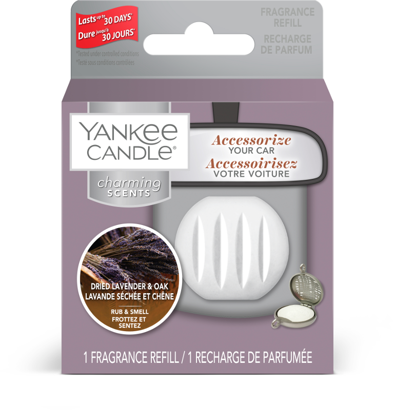 Yankee Candle Dried Lavender & Oak charming Scents Refill