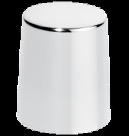 Afsluitdop zilver metaal