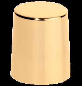 Afsluitdop goud metaal