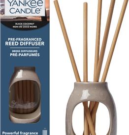 Black Coconut Pre-Fragranced Reed Starter Kit Embossed