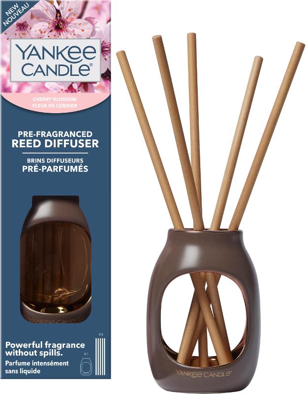 Cherry Blossom Pre-Fragranced Reed Starter Kit Metallic
