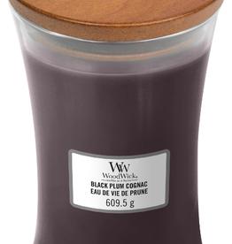 WoodWick Black Plum Cognac Large Candle