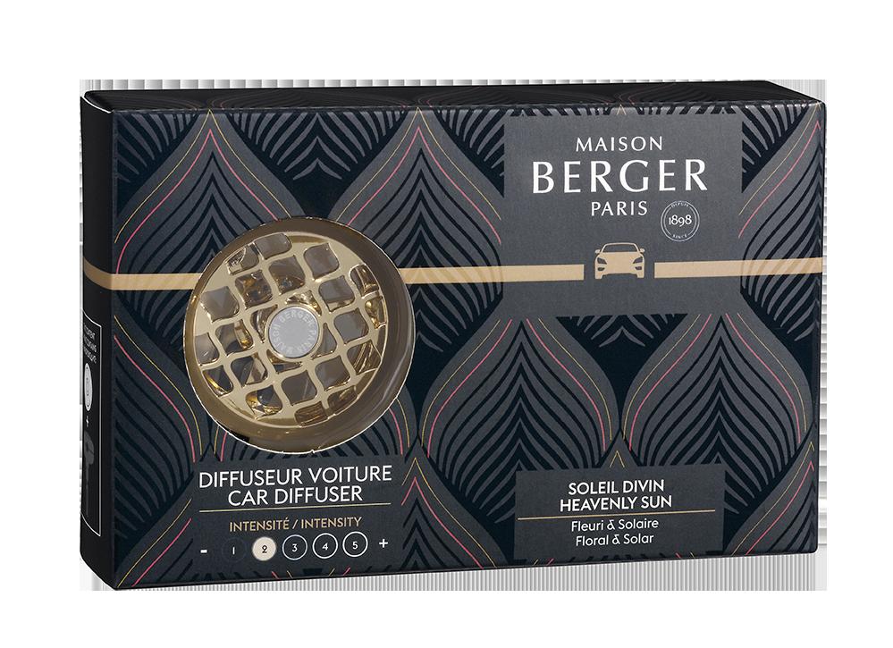 Maison Berger Autoparfum Resonance + 1 navulling Soleil Divin
