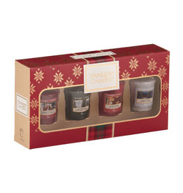 Yankee Candle Christmas Gift Collection 2019 4 Votive Gift Set