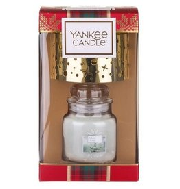 Yankee Candle Christmas Gift Collection 2019 1 Small Jar & 1 Small Shade