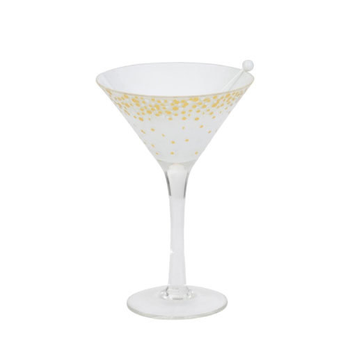 Yankee Candle Tea Light Holder Holiday Party Martini Glass