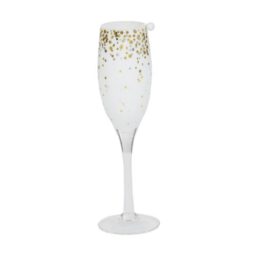 Yankee Candle Tea Light Holder Holiday Party Champagne Flute