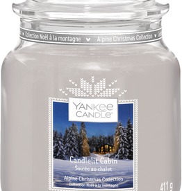 YC Candlelit Cabin Medium Jar