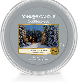 YC Candlelit Cabin Scenterpiece