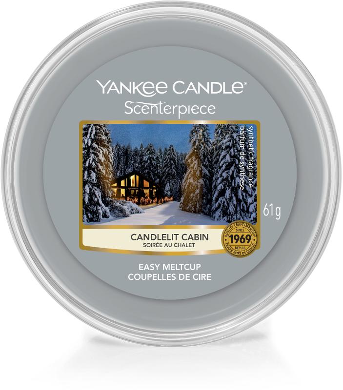 YC Candlelit Cabin Scenterpiece