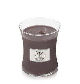 WoodWick Suede & Sandelwood Medium Candle