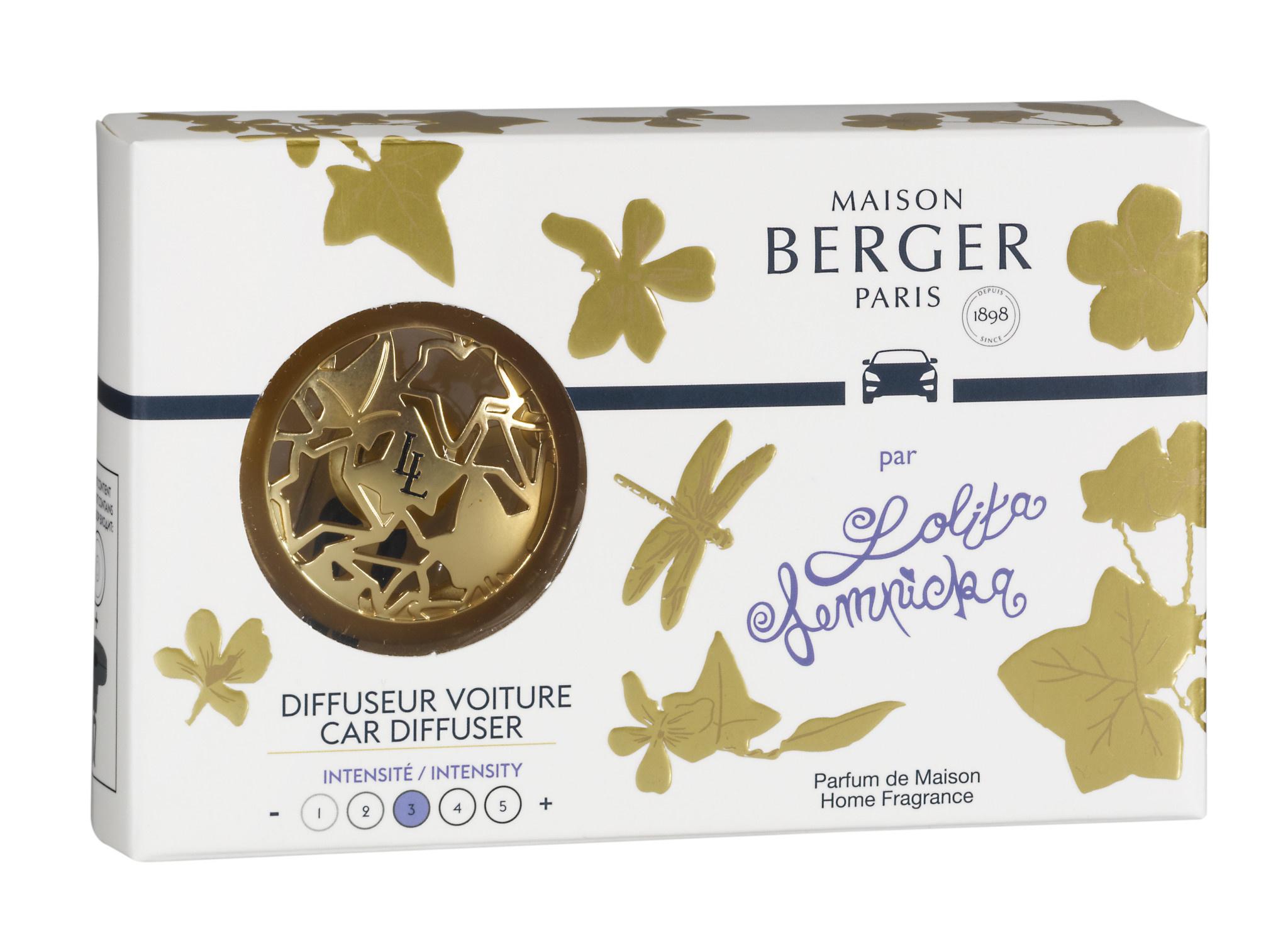 Maison Berger Lolita Lempicka Autodiffuser Or Satiné + 1 Navulling