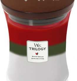 WoodWick Trilogy Winter Garland Medium Candle