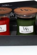 WoodWick Deluxe Gift Set Mini Jar Autumn Winter