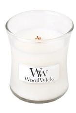 WoodWick White Teak Mini Candle
