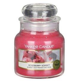 Yankee Candle Roseberry Sorbet Small Jar